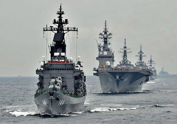 Japońskie okręty wojenne