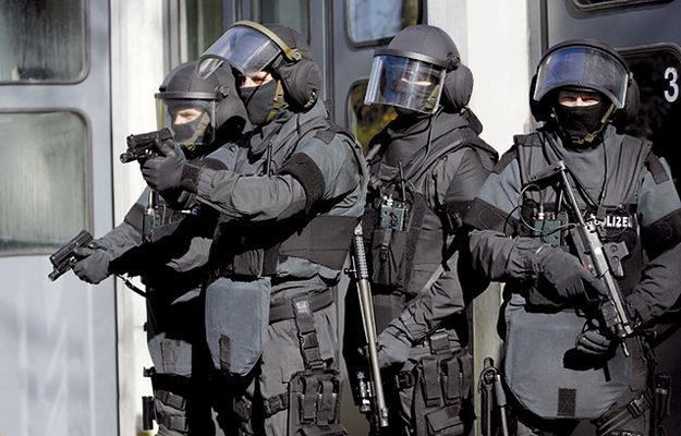 Policyjni antyterroryści w Niemczech