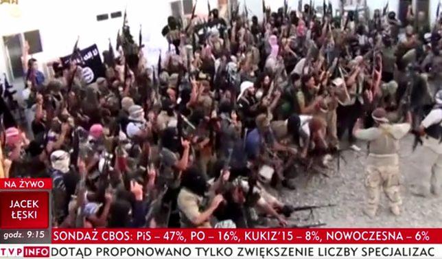 TVP Info zmontowało nagrania ISIS z żartobliwą piosenką o kebabie