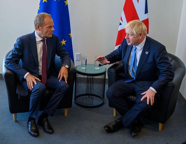 Donald Tusk zabrał głos ws. propozycji Borisa Johnsona ws. brexitu