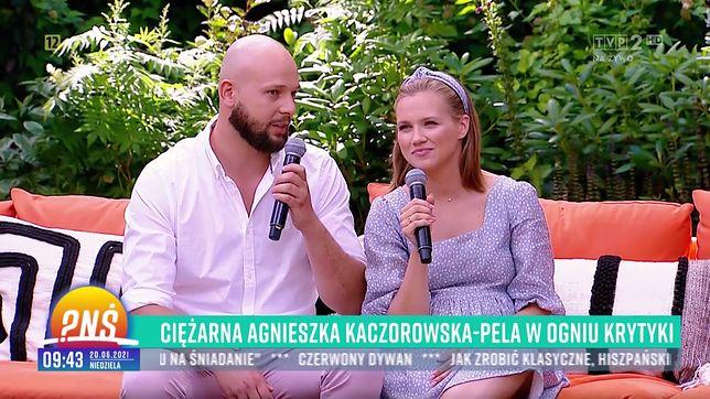 Maciej Pela i Agnieszka Kaczorowska są małżeństwem od 2018 r.