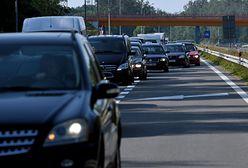 S3 w kierunku Polkowic. Wypadek. Cztery osoby ranne, droga zablokowana