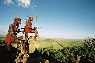 Ludy Afryki - dumni i energiczni Masajowie
