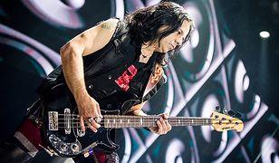 Paweł Mąciwoda jest basistą zespołu Scorpions