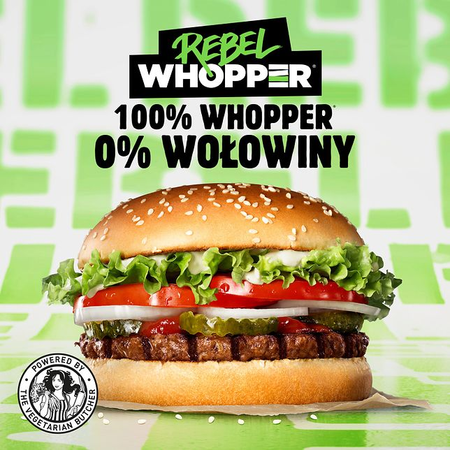 Bezmięsne Whoppery do znalezienia w Burger Kingach.