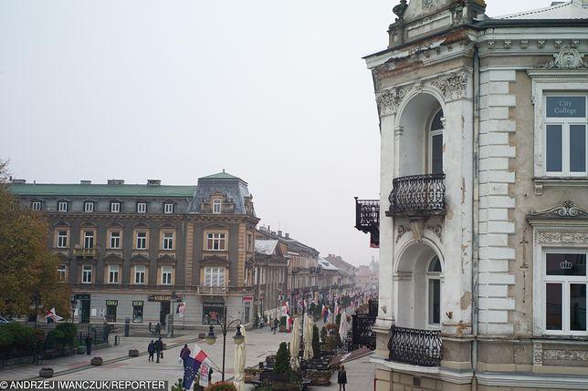 Ulica Żeromskiego w Radomiu, ulubione miejsce spotkań