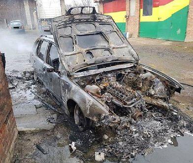 Wygoda. Zwłoki w spalonym BMW. Ofiarą 25-latek?