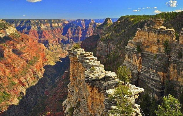 Kanion Kolorado, Północna Krawędź, Arizona