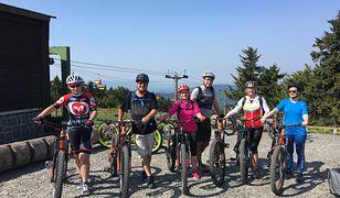 Rudawy są idealnym miejscem na rowerowe wyprawy