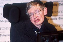 """Stephen Hawking pił z ambasadorem z Polski. """"W Warszawie nikt nie pytał, czy polać"""""""