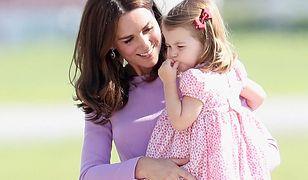 Sportowa pasja małej księżniczki Charlotty. Księżniej Kate to nie przypadło do gustu