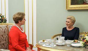Agata Kornhauser-Duda i Valentina Bodrug