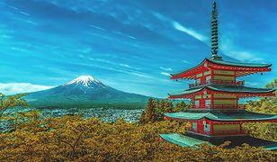 Widok na górę Fuji w Tokio zachwyca
