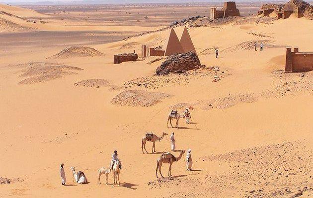 Nekropolia w środku pustyni