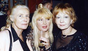 Agnieszka Osiecka, Maryla Rodowicz, Elżbieta Czyżewska w 1996 r.