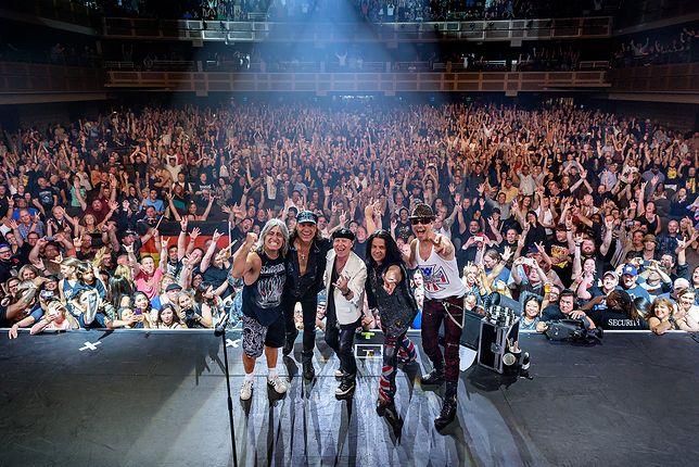 Scorpions lada dzień wystąpi w Polsce