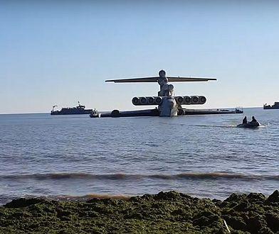 Rosja. Postrach lotniskowców odholowany. To koniec historii ekranoplanu Łuń