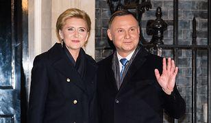 Agata Kornhauser-Duda z mężem