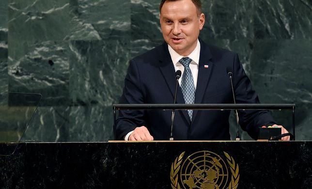 Andrzej Duda w przemówieniu podkreślił kwestię suwerenności krajów