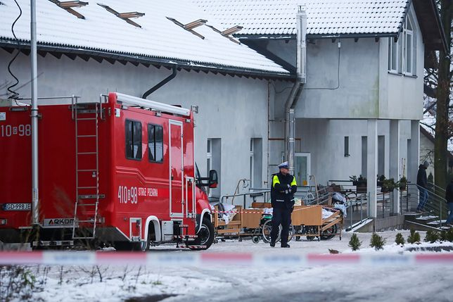 Chojnice. W pożarze hospicjum zginęły cztery osoby