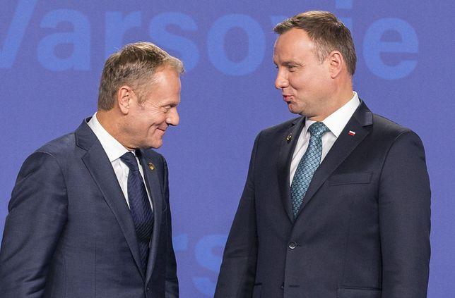 Obecnie to Donald Tusk ma największe szanse w prezydenckim starciu z Andrzejem Dudą.