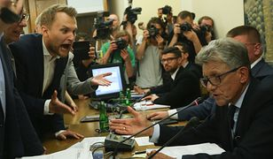"""Młody poseł Truskolaski próbował zablokować Piotrowicza. """"Gramy tak, jak PiS pozwala"""""""