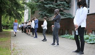 Egzamin ósmoklasisty w reżimie sanitarnym spowodowanym epidemią koronawirusa