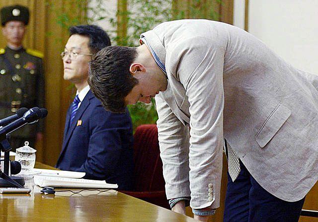 Modlił się i płakał. Pokazowy proces Amerykanina w Korei Płn.