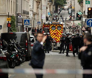 Policja poinformowała, że nie można zakwalifikować tego zdarzenia jako zamachu terrorystycznego