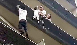 Imigrant uratował w Paryżu dziecko