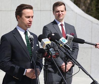 Koronawirus. Polska. Wybory 2020. Krzysztof Bosak nawołuje do zawieszenia składek na WHO