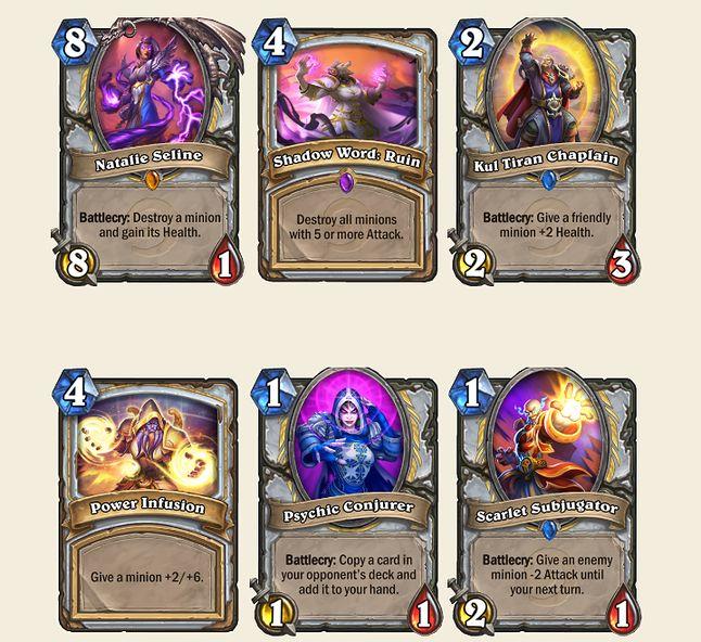 Nowe karty które uzupełnią kolekcję kapłana
