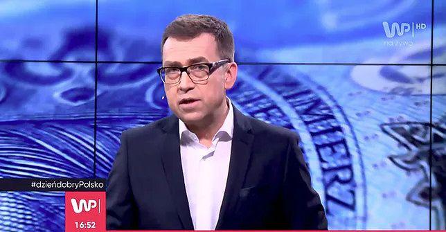 Maciej Orłoś gościł w programie, ale nie mówił o bitcoinach (fot. WP)