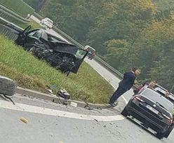 Wypadek pod Kielcami. Na miejscu była Służba Ochrony Państwa