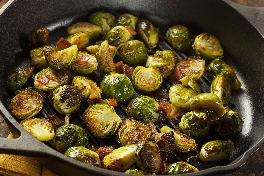 Brukselkę najlepiej jeść przygotowaną na parze