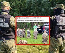 Msza na granicy polsko-białoruskiej? Zdjęcie klęczących żołnierzy obiegło sieć