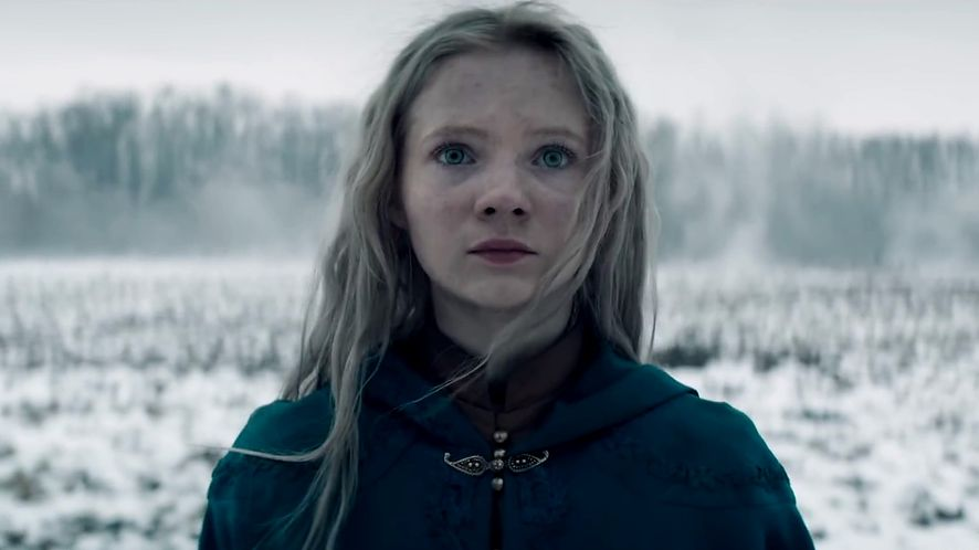 "Freya Allan jako Ciri w serialu Netflixa ""Wiedźmin"""