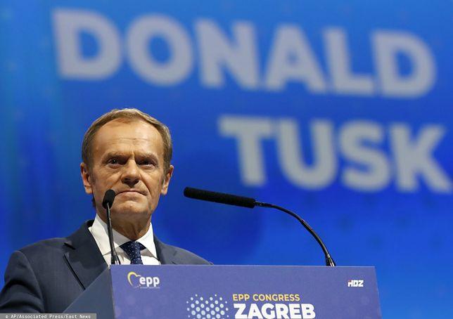 Donald Tusk został przewodniczącym Europejskiej Partii Ludowej
