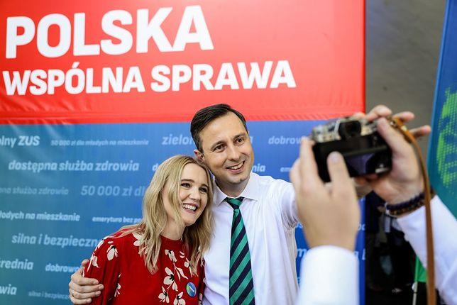 Wybory 2020. Paulina Kosiniak-Kamysz nie towarzyszyła mężowi podczas ogłoszenia wyników