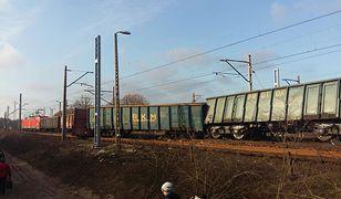 Trzy wagony wykoleiły się na stacji Poznań-Kiekrzu