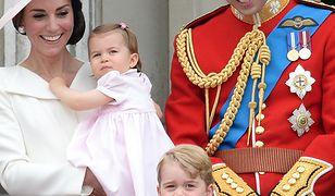 Kate Middleton z dziećmi na paradzie Trooping The Colour