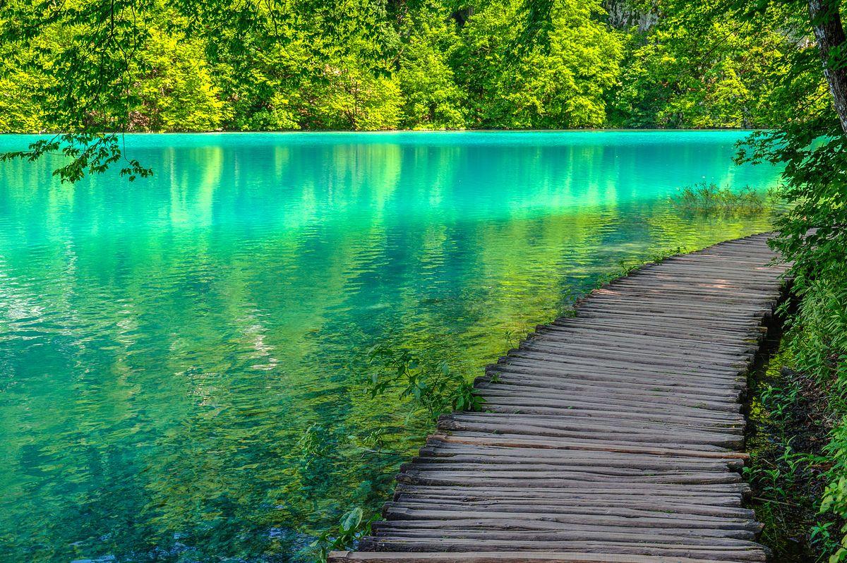 Plitwice to jeden z największych cudów natury w Europie