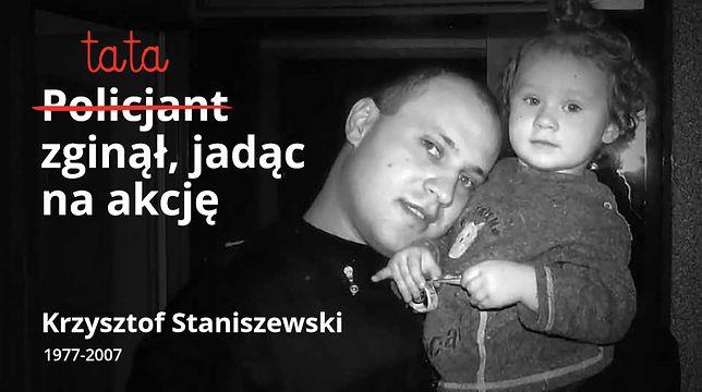 Policjant Krzysztof Staniszewski zginął jadąc do zgłoszonego napadu