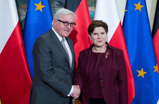 """""""Frankfurter Allgemeine Zeitung"""" apeluje do Polski i Niemiec: nie niszczyć sojuszniczego zaufania"""
