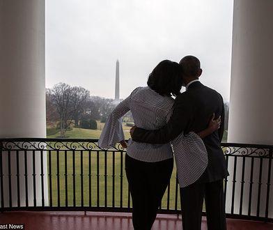 Ostatnie zdjęcie Michelle i Baracka w Białym Domu