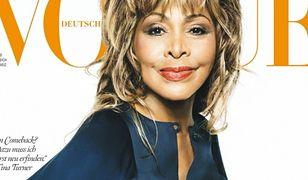 """Tina Turner w wieku 74 lat zadebiutowała na okładce """"Vogue'a""""!"""