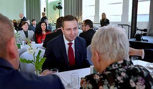 Wybory prezydenckie 2020. Władysław Kosiniak-Kamysz mówił w Szczecinie o Andrzeju Dudzie