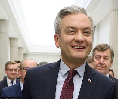 Robert Biedroń jest kandydatem Lewicy na prezydenta