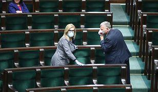 Sejm obraduje podczas epidemii koronawirusa