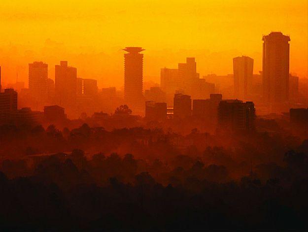 Wieżowce w Nairobi, Kenia